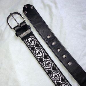 Accessories - Patterned Belt